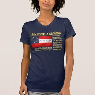 de 11de Infanterie van Noord-Carolina (BA2) T Shirt