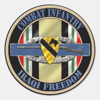 de 1st Infanterie OIF van de Afdeling van de Ronde Sticker