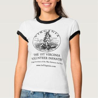 de 1st Infanterie van Virginia T Shirt