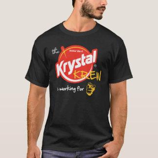 De 1st Plaats van Krystal - het Werken van de T Shirt