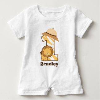 de 1st T-shirt van het Kruippakje van de Leeuw van