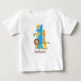 de 1st T-shirt van het Oerwoud van de Verjaardag