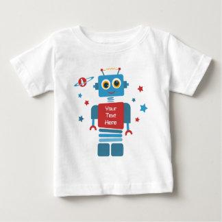 De 1st Verjaardag PD van de robot Baby T Shirts