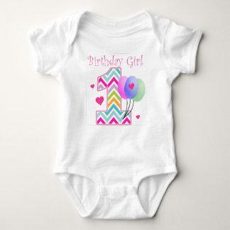 De 1st Verjaardag van het Baby van de Verjaardag Romper