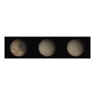 De 2001 Grote Stofstormen op Mars Fotoprints