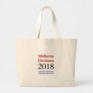 De 2018-opbrengst van de Verkiezingen van de helft Grote Draagtas