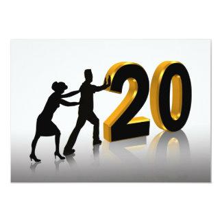 de 20ste Uitnodiging van de Partij van het