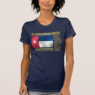 de 22ste Infanterie van Noord-Carolina (BA2) T Shirt