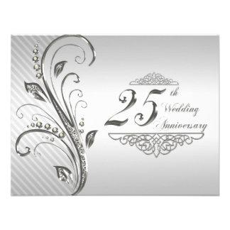 de 25ste Uitnodiging van de Verjaardag van het Huw