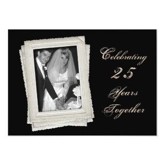de 25ste Uitnodiging van het Jubileum van het