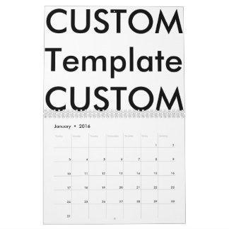 De 2-pagina van de douane Kalender, UITZONDERLIJKE Kalender