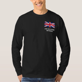 de 2de Afdeling van de Infanterie - het Britse T Shirt