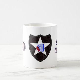 de 2de Afdeling van de Infanterie Koffiemok