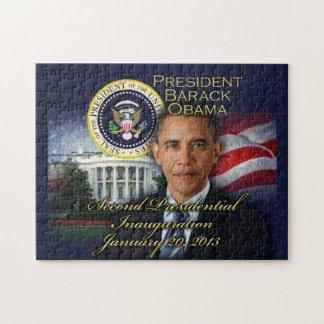 De 2de Inauguratie van Obama van het president Legpuzzel