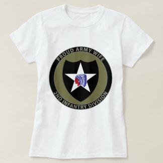 de 2de Vrouw van de Infanterie T Shirt