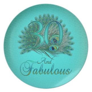 de 30ste borden van de Verjaardag