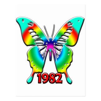 de 30ste Giften van de Verjaardag, 1982 Wens Kaart