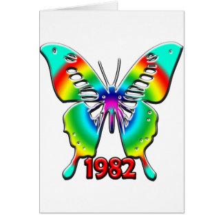 de 30ste Giften van de Verjaardag, 1982 Wenskaart