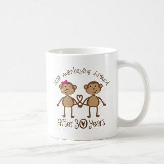 de 30ste Giften van de Verjaardag van het Huwelijk Koffie Mok