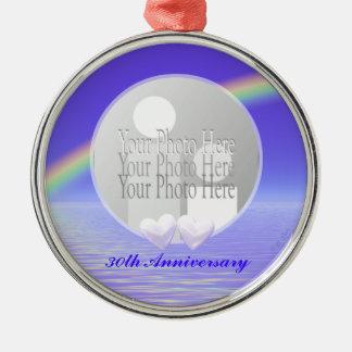 de 30ste Harten van de Parel van de Verjaardag (fo Ornament