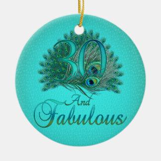 de 30ste Ornamenten van de Verjaardag