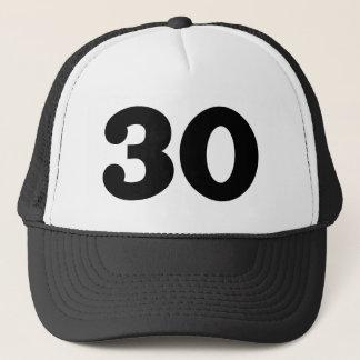de 30ste Partij van de Verjaardag Trucker Pet