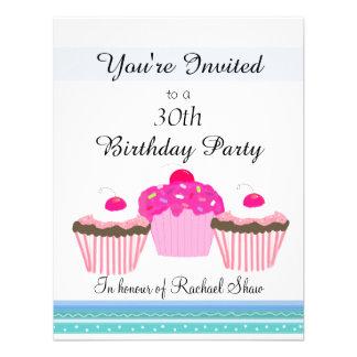 de 30ste Partij van de Verjaardag Custom Uitnodigingen