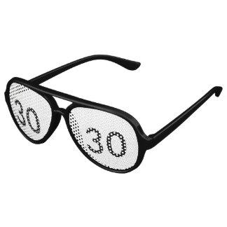 de 30ste Schaduwen van de Partij van de Verjaardag Festival Zonnebril