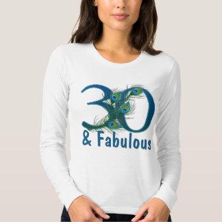 de 30ste T-shirts van de Verjaardag
