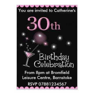de 30ste Uitnodiging van de Partij van de 12,7x17,8 Uitnodiging Kaart