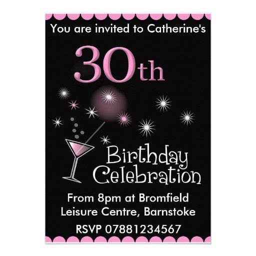de 30ste Uitnodiging van de Partij van de Verjaard