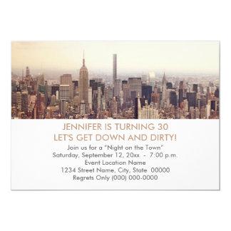 de 30ste Uitnodigingen van de Stad van New York