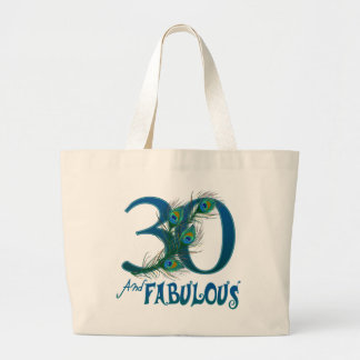 de 30ste Zakken van de Verjaardag Jumbo Draagtas
