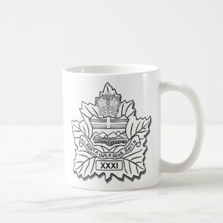 de 31ste Mok van de Koffie van het Bataljon CEF