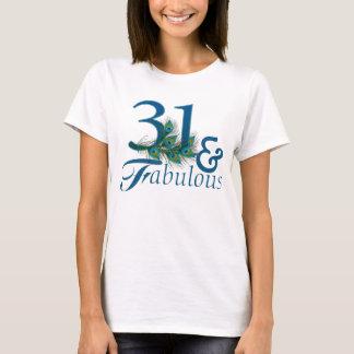 de 31ste T-shirts van de Verjaardag