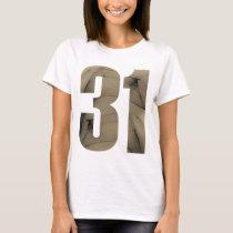 de 31ste Vieringen van de Verjaardag T Shirt