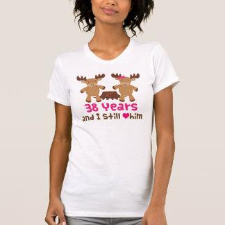de 38ste Gift van het Jubileum voor haar T Shirt