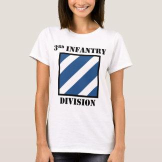 de 3de Afdeling van de Infanterie W/Text T Shirt