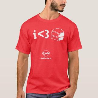 De 3de Plaats van Krystal - I <3 Krystals! T Shirt