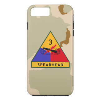 """de 3de Woestijn Camo van de """"Speerpunt"""" van de iPhone 8/7 Plus Hoesje"""