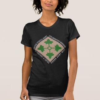 de 4de Vrouw van de Infanterie T Shirt