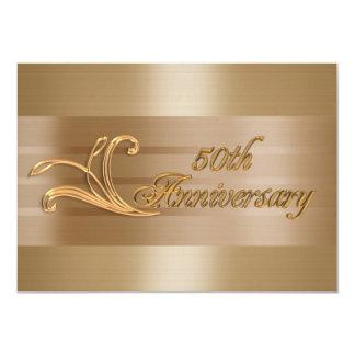 de 50ste gouden uitnodiging van de