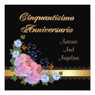 de 50ste Italiaanse uitnodiging van het