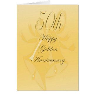 de 50ste Kaart van het Jubileum van het Huwelijk