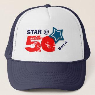 de 50ste Naam van de Douane van de STER van de Trucker Pet