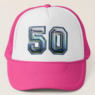 de 50ste Partij van de Verjaardag Trucker Pet