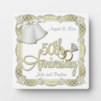 de 50ste Plaque van het Jubileum Fotoplaat