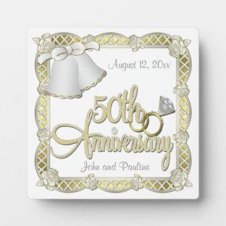 de 50ste Plaque van het Jubileum Plaat