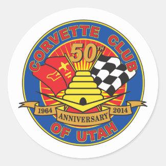 de 50ste Stickers van het Logo van het Jubileum