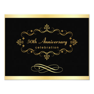 de 50ste Uitnodigingen van het Jubileum - Speciale